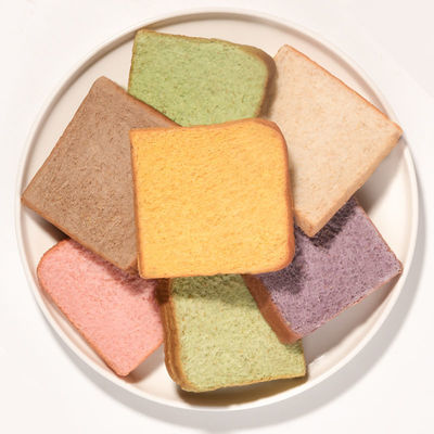 全麦面包一周装轻卡早餐代餐吐司无蔗糖饱腹黑麦紫薯面包批发