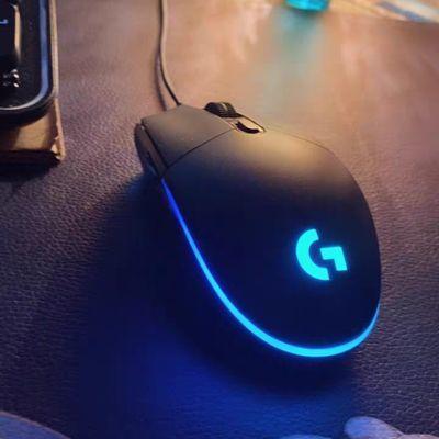26700/G102二代有线电竞鼠标LOL游戏宏RGB灯光台式电脑笔记本CF宏编程