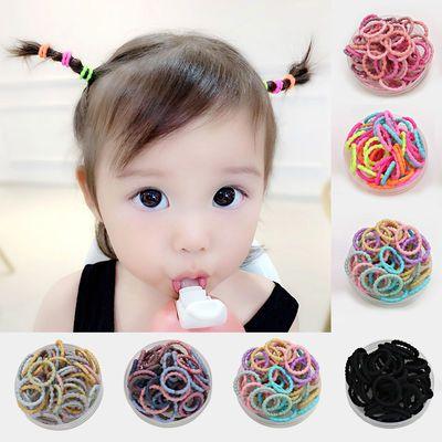 儿童头绳韩版螺旋发圈糖果色竹节不伤发扎头发橡皮筋小女孩头绳