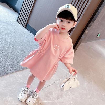 40038/女童连衣裙夏装2021新款女宝宝裙子网红洋气小童儿童公主裙韩版潮