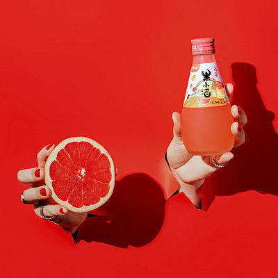 威兰特果小酒 高颜值少女水果酒水果发酵低度甜酒非鸡尾酒气泡酒