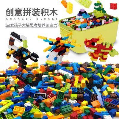 兼容乐高小颗粒百变滑道拼装轨道男女孩益智早教积木diy儿童玩具