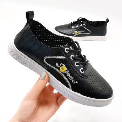 夏季新款小白鞋女学生透气网鞋韩版洞洞鞋