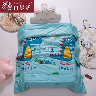 24170/百思寒儿童纯棉夏凉被幼儿园午睡空调被夏季全棉宝宝卡通薄被子