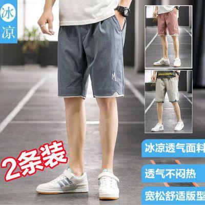 36932/2021工装休闲短裤男跑步学生夏季运动五分裤薄款大码宽松短裤潮流