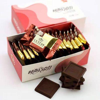 超越时尚巧克力礼盒装零食110g
