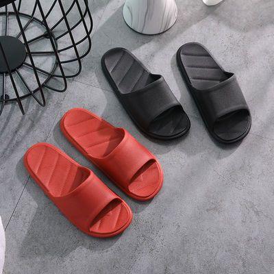 夏季居家拖鞋男女室内防滑浴室洗澡情侣速干简约家用软底待客拖鞋