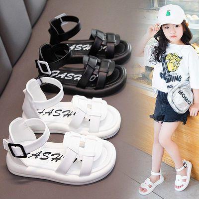 32120/女童凉鞋2021新款夏季时尚儿童镂空小女孩运动鞋中大童软底公主鞋