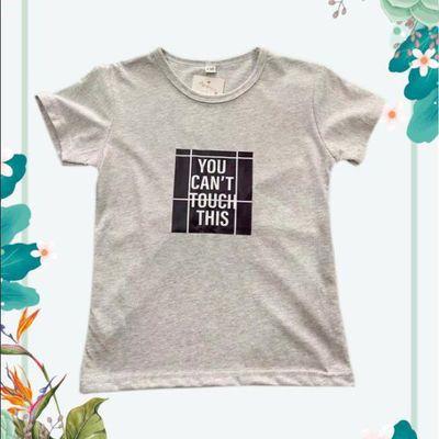 男女童短袖T恤夏装薄款儿童纯棉半袖