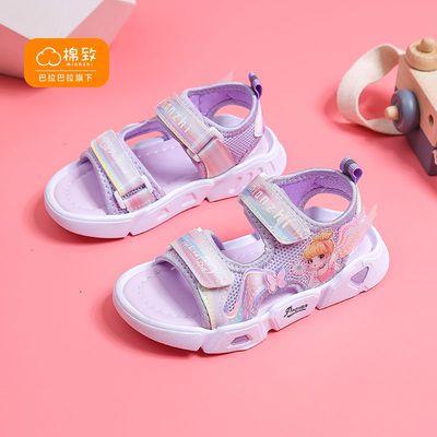 37521/巴拉巴拉旗下棉致2021新款夏季女童休闲凉鞋中大童公主儿童女孩鞋