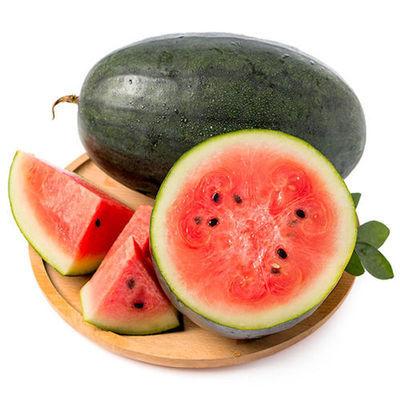 越南进口应季黑美人西瓜包沙包甜当季山地大西瓜新鲜热带水果批发