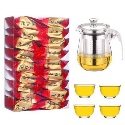 【送1壶4杯】大红袍茶叶乌龙茶浓香型新茶小泡装茶叶125克16泡
