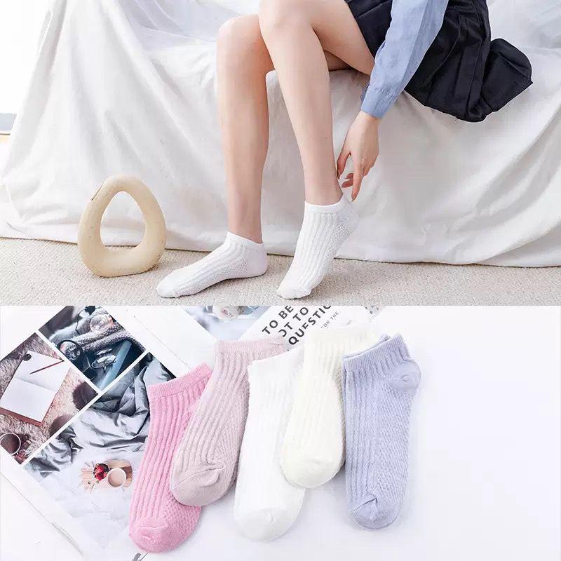袜子女短袜潮百搭浅口船袜夏季薄款女隐形新款柔软透气防臭防滑