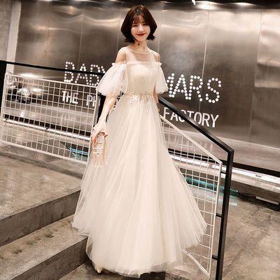 29916/晚礼服2021新款仙气质梦幻学生毕业宴会小礼服裙女成人礼平时可穿
