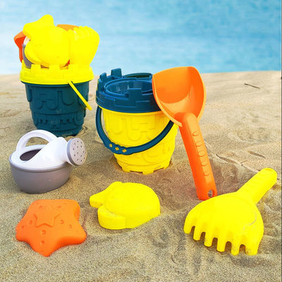 儿童沙滩玩具套装品质玩沙铲子花洒桶挖沙玩具套装男女孩婴儿玩具