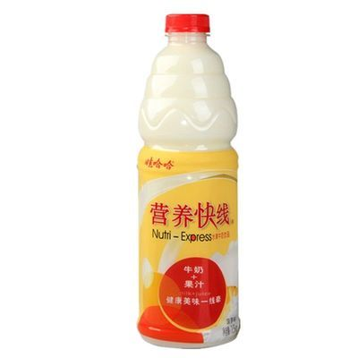 娃哈哈营养快线1.5L大瓶果汁酸奶牛奶复合饮料2瓶/份特惠多省包邮