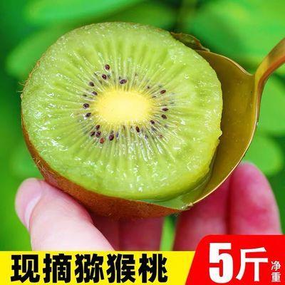 陕西绿心猕猴桃奇异果应季孕妇水果新鲜现摘迷糊桃批发2-10斤超甜
