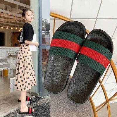 拖鞋女夏季外穿家用防滑网红ins鞋子女学生韩版时尚潮鞋女士凉拖
