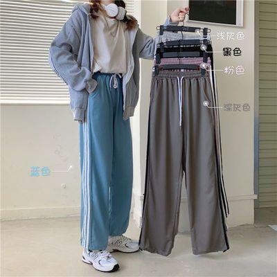 夏装外贸出口尾单大牌剪标女装正品尾货束脚运动哈伦休闲长裤子潮