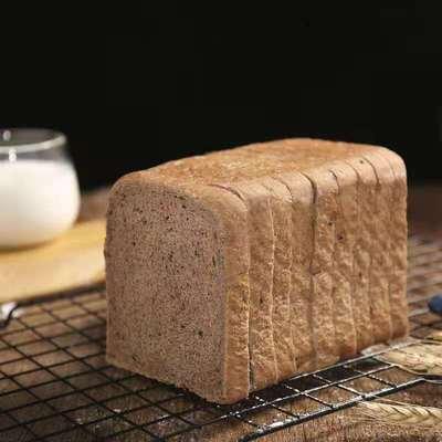 【饱腹代餐】正宗黑麦全麦吐司无加蔗糖粗粮面包早餐多规格