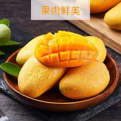 海南小台农芒果新鲜时令水果5斤10斤现摘现发应季孕妇水果