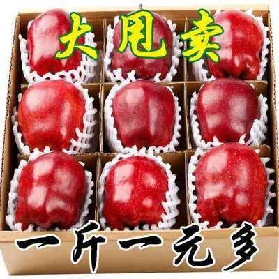 天水花牛苹果2/10斤新鲜蛇果粉面刮泥孕妇宝宝辅食当季水果批发价