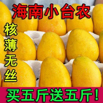 【特价】现摘小台农芒果当季新鲜水果3斤/5斤/10斤装整箱批发包邮