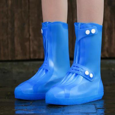 65906/雨鞋套防水雨天鞋套防水硅胶鞋防雨脚套防滑加厚耐磨下雨男女雨靴
