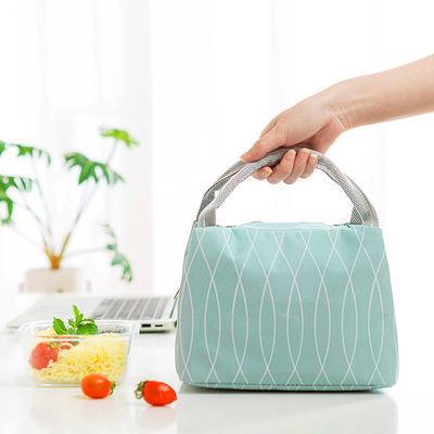 万物生小号饭袋午餐包学生带饭保温饭盒袋子保温包保温保鲜野餐包