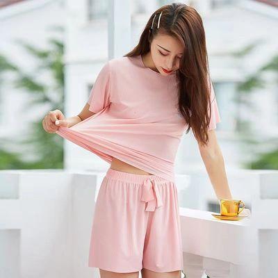 30251/小雏菊家居睡衣女士套装夏季薄款短袖短裤冰丝两件套装学生套装女