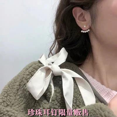 高级感ins风珍珠耳钉新款2021年爆款耳环女气质简约一款两戴耳饰