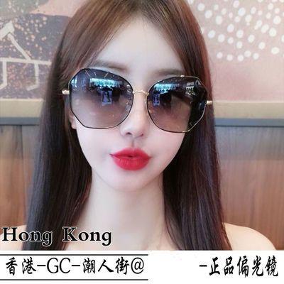33587/2021年新款女士时尚墨镜 韩版潮防紫外线偏光太阳眼镜网红大脸夏