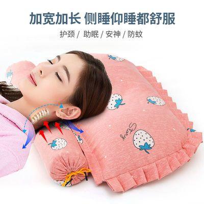 颈椎枕头成人枕护颈枕芯脖子靠枕按摩枕保健枕头颈椎专用助眠圆枕