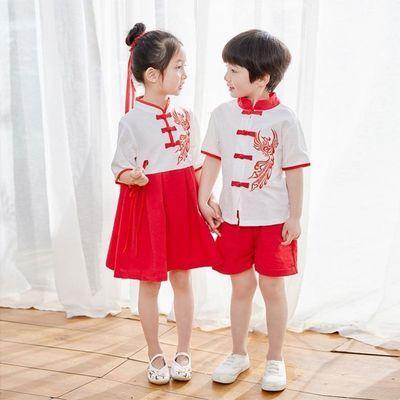 39718/六一儿童中国风合唱服演出服男女童古装幼儿园诗歌朗诵国学表演服