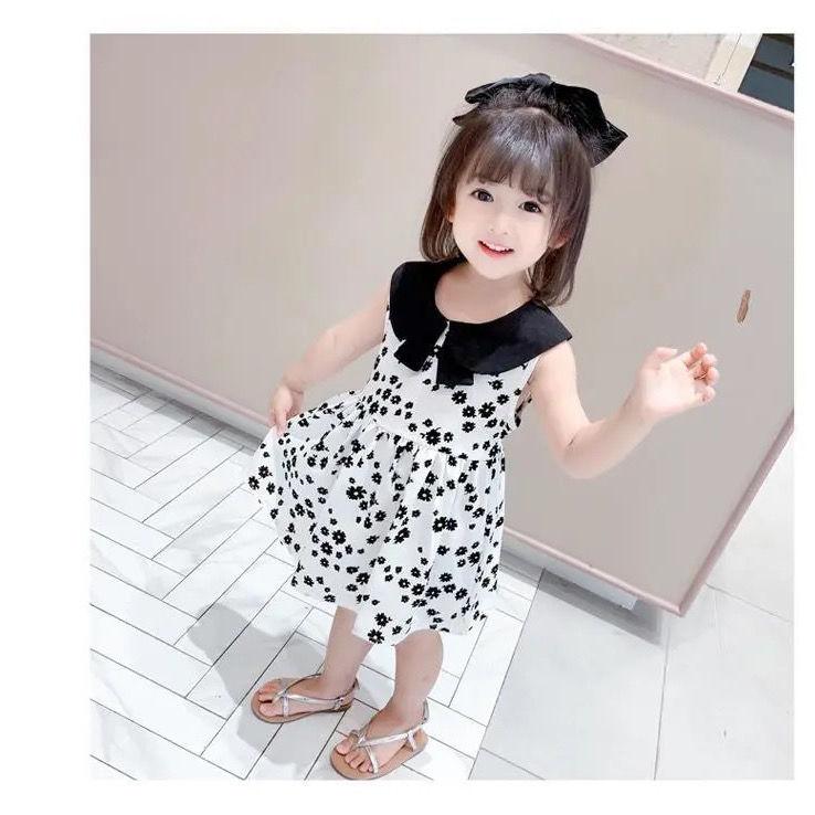 新款小童洋气背心裙女童公主裙女孩夏天裙子