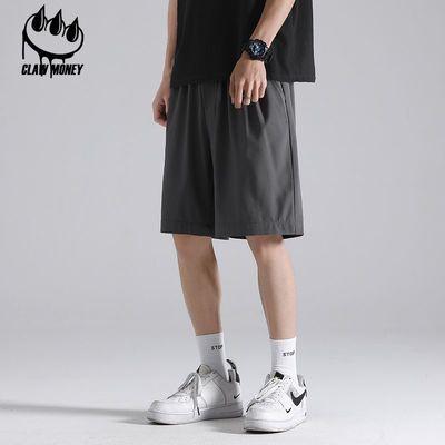 63476/CLAW MONEY运动短裤男跑步健身速干潮休闲五分女宽松冰丝篮球裤