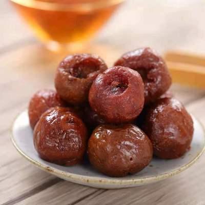 炳记山楂凉果蜜饯果肉泡茶酸甜山楂球网红零食新鲜果小包装