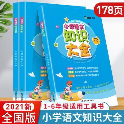77546/2021版小学语文知识大全部编人教版小升初知识大集结基础知识手册