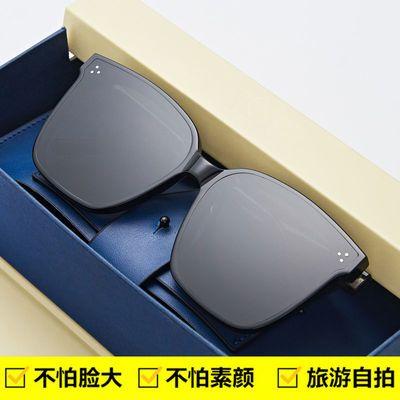 37583/卡帝乐鳄鱼墨镜2021春夏太阳镜女遮阳防紫外线眼镜男女款护目镜