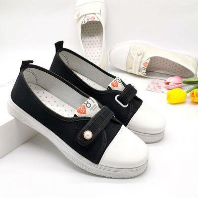 小白鞋女鞋新款透气学生鞋百搭韩版平底低帮板鞋