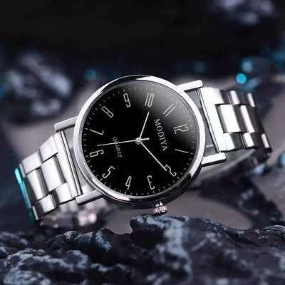 25917/全自动机芯表瑞士正品手表男士时尚2021新款夜光精钢带日历防水表