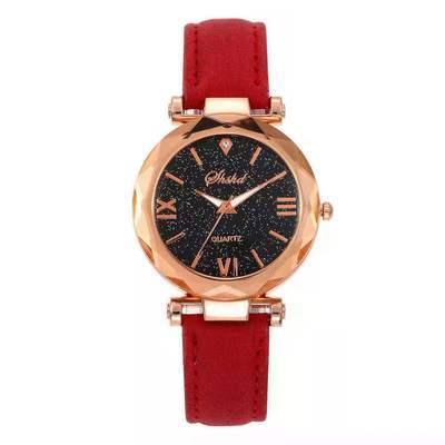 气质女生手表女学生韩版简约星空罗马刻度潮流学生手表insl元手表