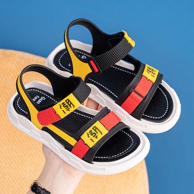 33068/男童凉鞋2021年夏季新款中小童时尚软底儿童鞋小男孩防滑沙滩鞋子