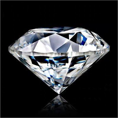 77114/正品 8克拉超大美国进口莫桑钻戒面裸钻八心八箭钻石切工裸石12mm