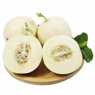 【多仓发货】陕西阎良甜瓜当季新鲜水果3斤/6斤白瓜整箱批发包邮