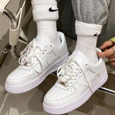 78785/空军一号AF1男鞋板鞋学生低帮小白鞋情侣女鞋高帮百搭莆田运动鞋