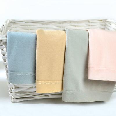 4条纯棉内裤女士大人短裤简约纯色透气底裤头学生韩版少女三角裤