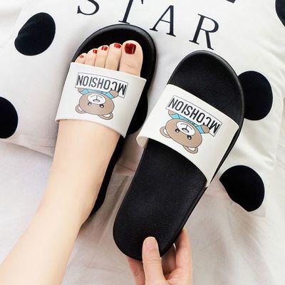 拖鞋女夏天2021新款室内防滑浴室内家居家用ins潮可爱外穿凉拖鞋