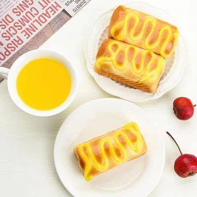 奶酪吐司软面包夹心早代餐零食品糕点心吐司果酱批发优惠特价