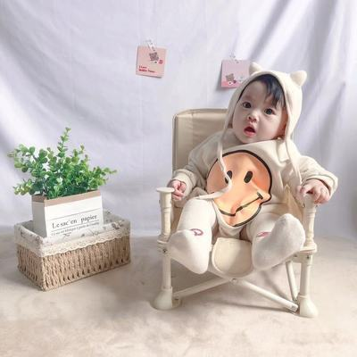 39629/户外宝宝餐椅可折叠婴儿餐桌椅座椅多功能凳韩国潮流拍照儿童小椅